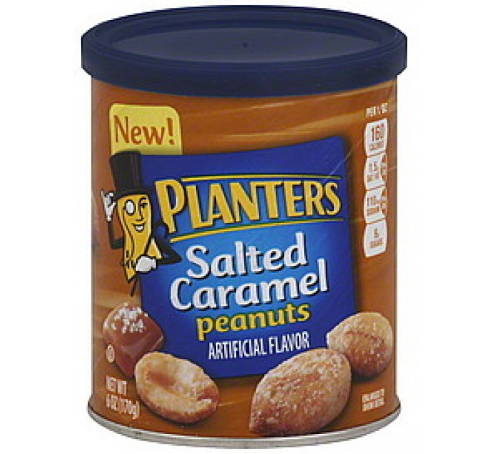 Planters Salted Caramel Peanuts (170g)