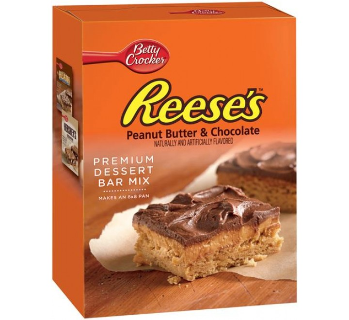 Betty Crocker Reese's Peanut Butter & Chocolate Premium Dessert Bar Mix (503g)