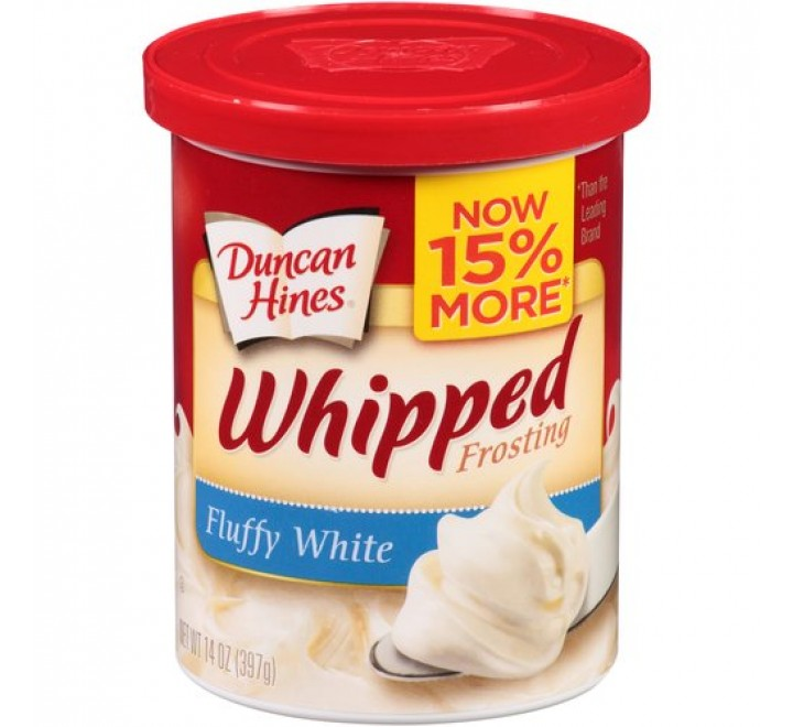 Duncan Hines Fluffy White Whipped Frosting (397g)
