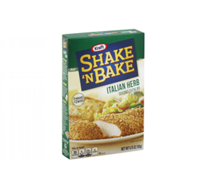 Shake 'N Bake Italian Herb Seasoned Coating Mix (135g)