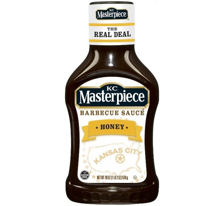 KC Masterpiece Sweet Honey  BBQ Sauce (510g)
