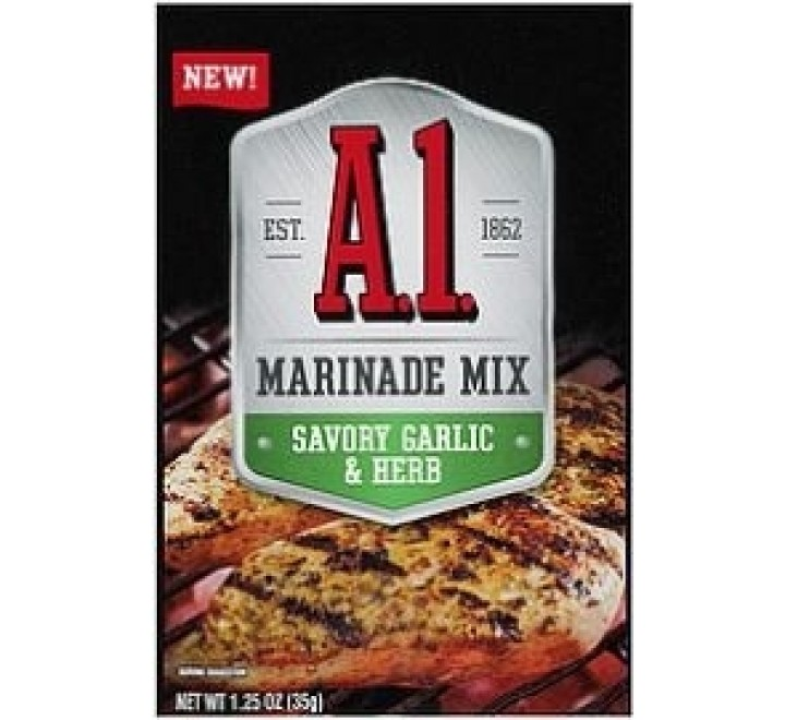 A1 Savory Garlic & Herb Marinade Mix (35g)