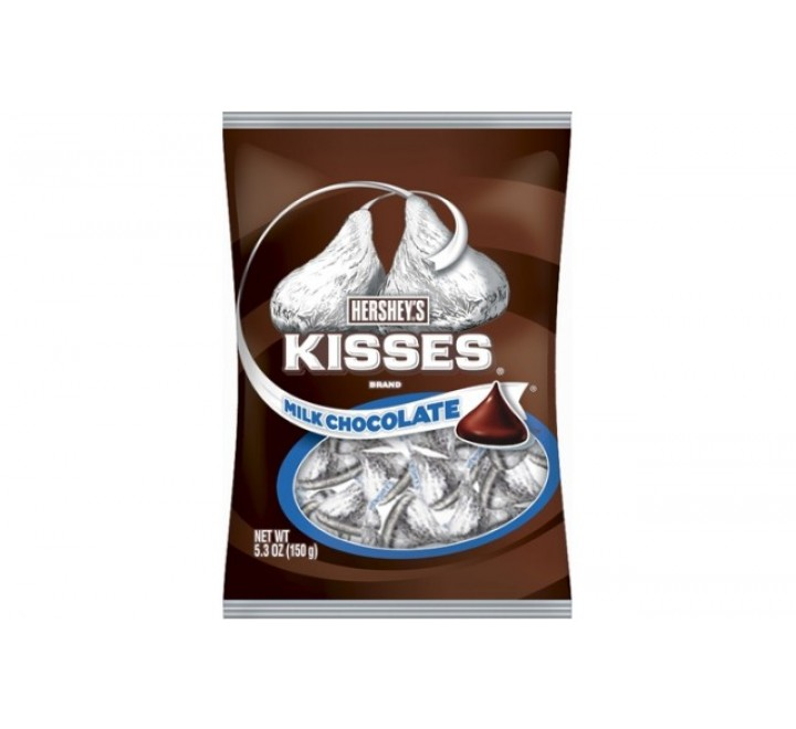 Hershey's Kisses Milk Chocolate, Silver (198g)
