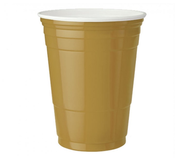 Gold American Party Cups (473ml) USfoodz