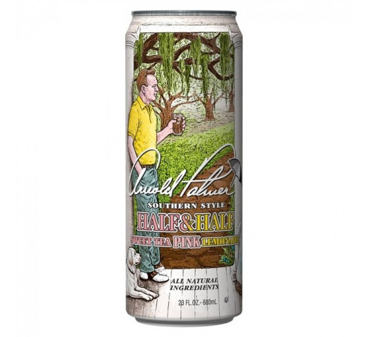 Arizona Arnold Palmer, Half & Half Sweet Tea / Pink Lemonade (680ml)