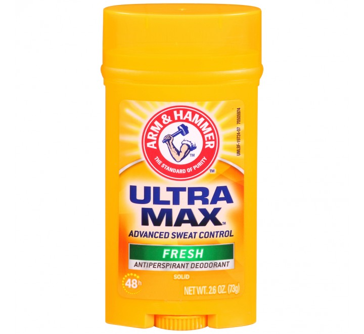 Arm & Hammer Ultra Max Fresh Antiperspirant Deodorant Solid (73g)