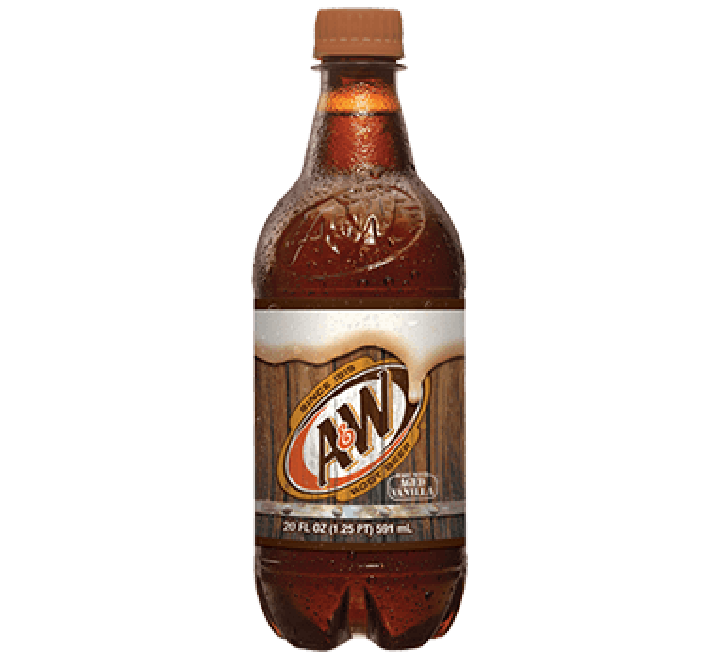 A & W Root Beer Bottle (591ml)