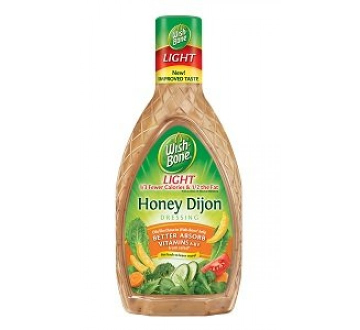 Wish-Bone Honey Dijon Salad Dressing Light (437ml)