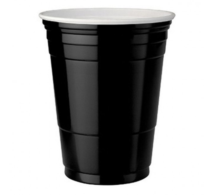 Black American Party Cups (473ml) USfoodz