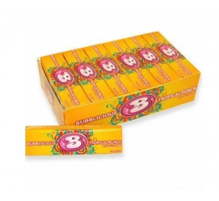 Bubblicious Tropical Punch Gum
