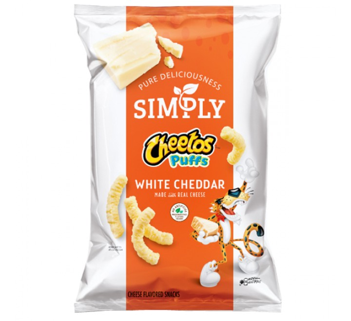 Cheetos Puffs Simply White Cheddar (24g)