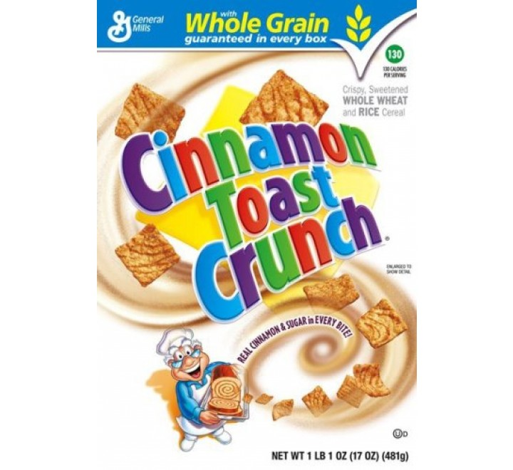 Cinnamon Toast Crunch Cereal (345g) USfoodz