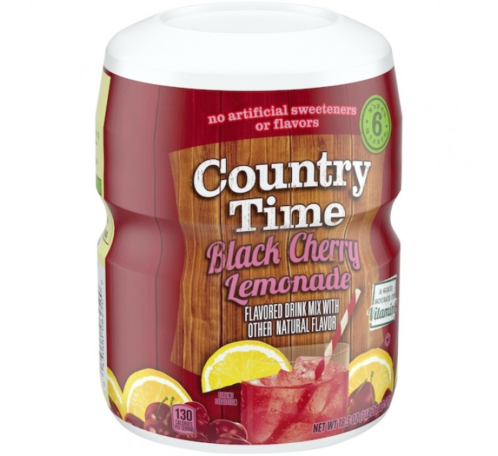 Country Time Drink Mix, Black Cherry Lemonade (510g)