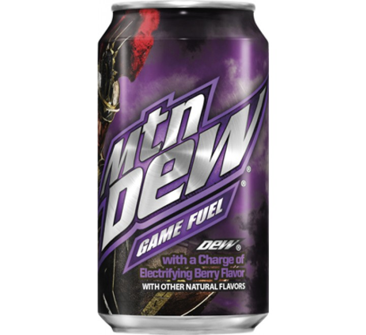 Mountain Dew Game Fuel Berry (355ml)