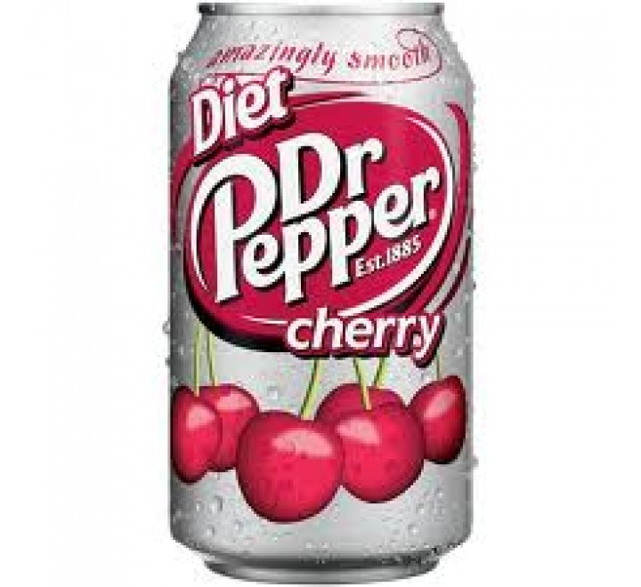 Dr Pepper Diet, Cherry (355ml)   USfoodz