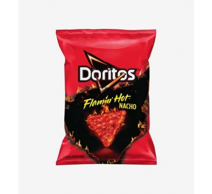 Doritos Flamin Hot Nacho Cheese, Large bag (311g)