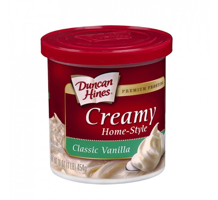 Duncan Hines Creamy Home-Style Classic Vanilla Frosting