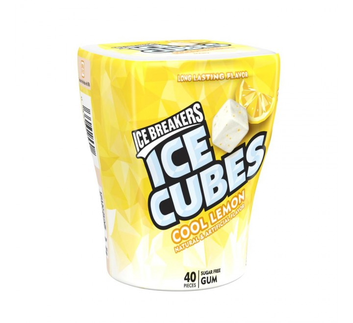 Ice Breakers Ice Cubes, Cool Lemon (40 pieces)
