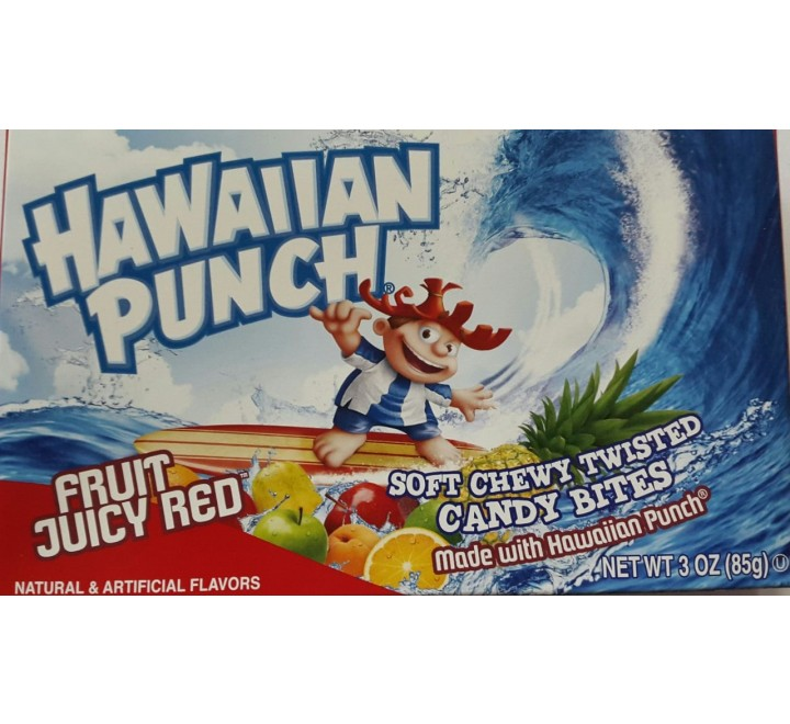 Hawaiian Punch Soft Chewy Twisted Candy Bites Box