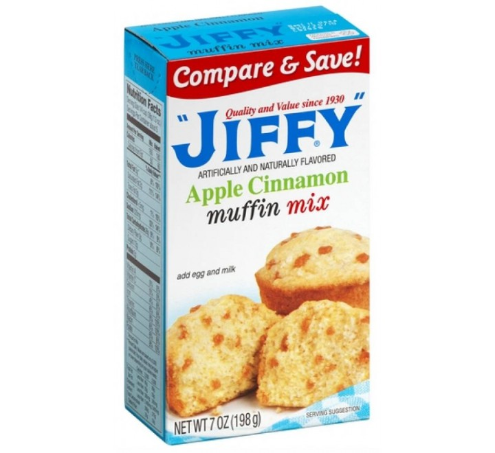 Jiffy Apple Cinnamon Muffin Mix (198g)
