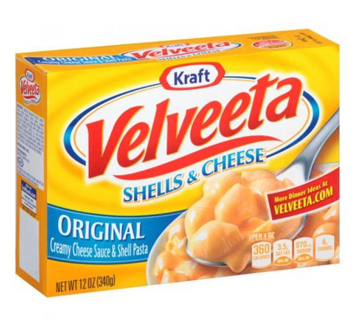 Kraft Velveeta Original Shells & Cheese (340g)