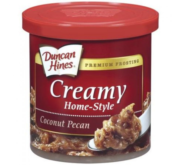 Duncan Hines Coconut Pecan Creamy Home-Style Frosting