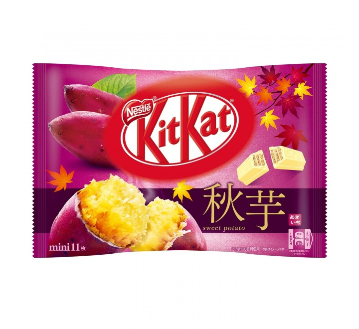 KitKat Mini, Autumn Sweet Potato