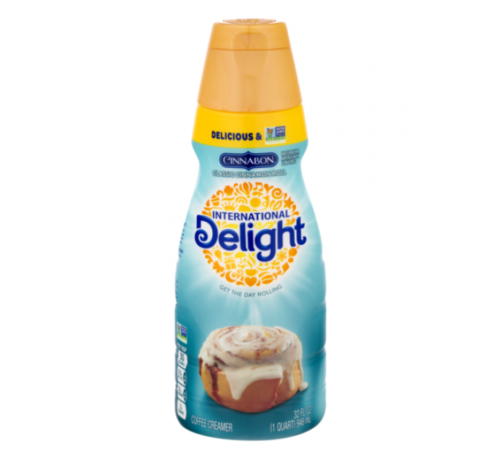 International Delight, Cinnabon Coffee Creamer (473ml)