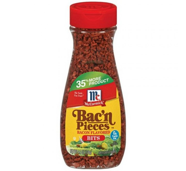 McCormick Bac'n Pieces Bacon Flavored Bits (124g)