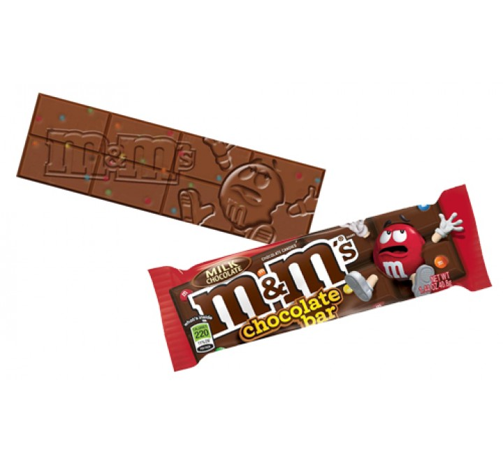 M&M's Chocolate Bar (42g)