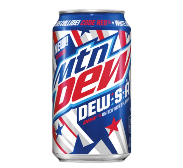 Mountain Dew DEW-S-A (355ml) USfoodz