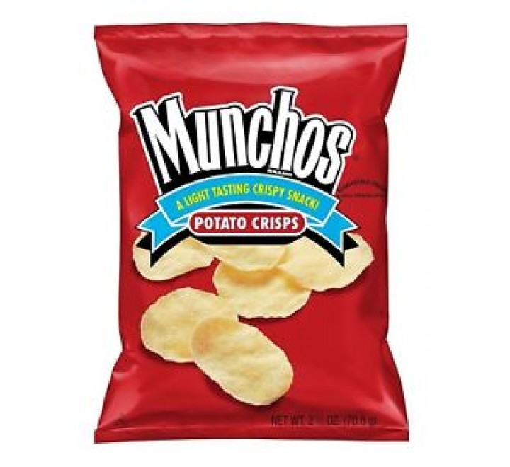 FritoLay Munchos Potato Crisp Snacks (24.8g)
