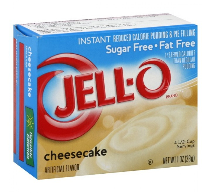 Jell-O Sugar & Fat Free, Instant Pudding & Pie Filling, Cheesecake (28g)