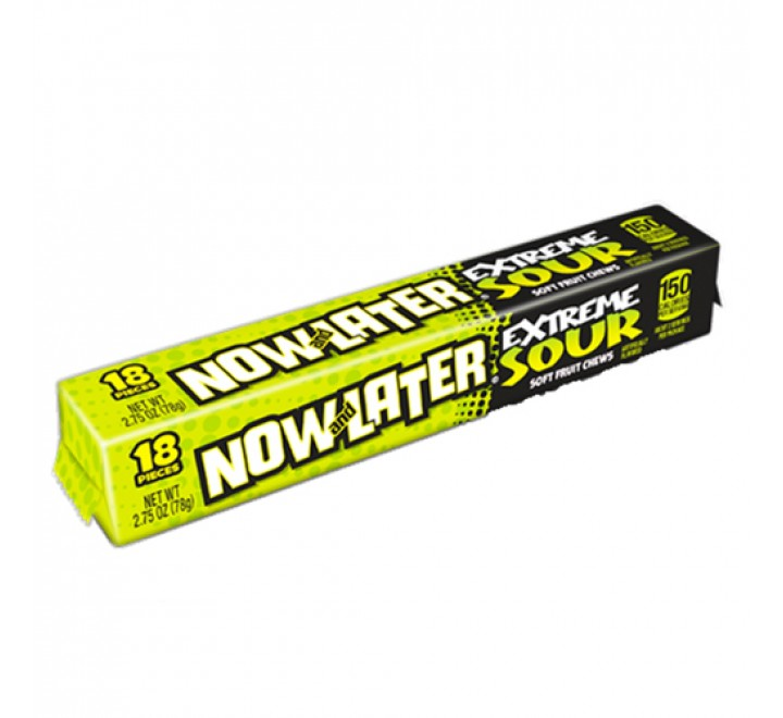 Now and Later Extreme Sour (78g)