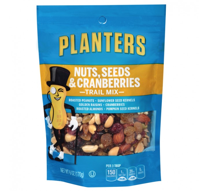 Planters Nuts, Seeds & Cranberries Trail Mix (170g)