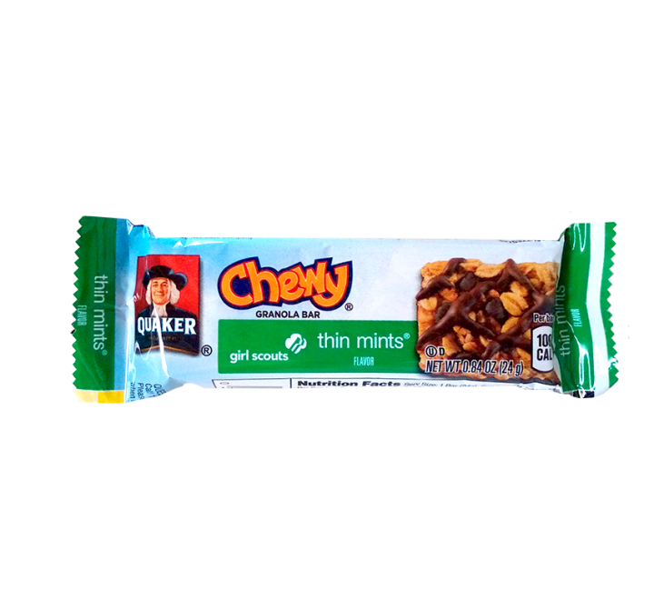 Quaker Chewy Girl Scouts Thin Mints Granola Bar (24g)