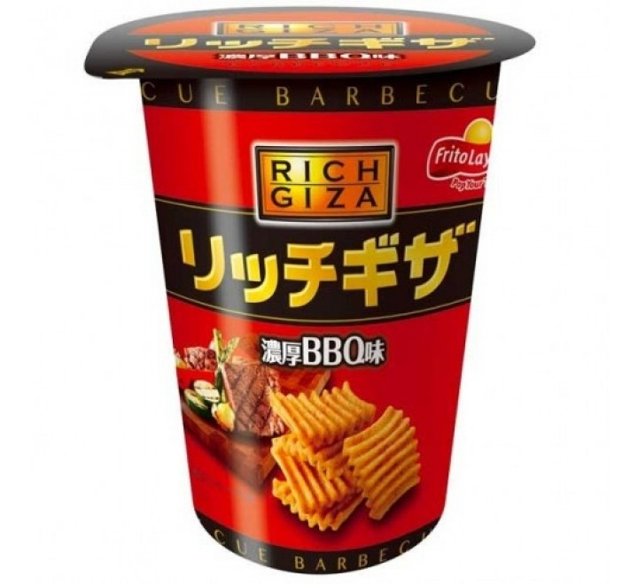 Rich Giza BBQ Corn Chips, Cup (30g)