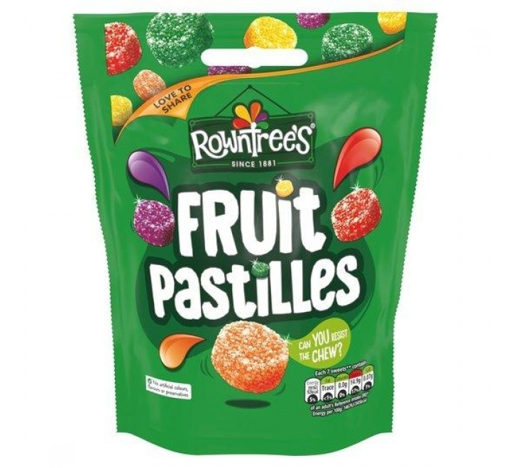 Rowntree's Fruit Pastilles Pouch (150g)