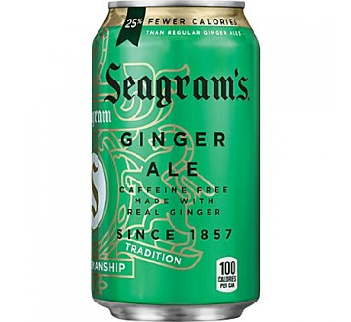 Seagram's Ginger Ale (355ml)