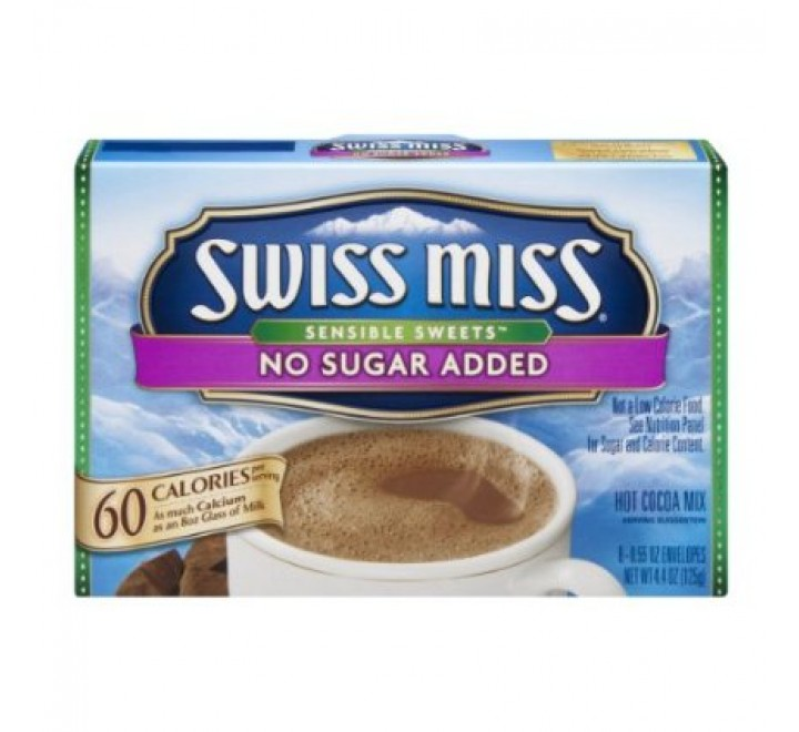 Swiss Miss No Sugar Added Hot Cocoa Mix (Best Before 05-03-17)