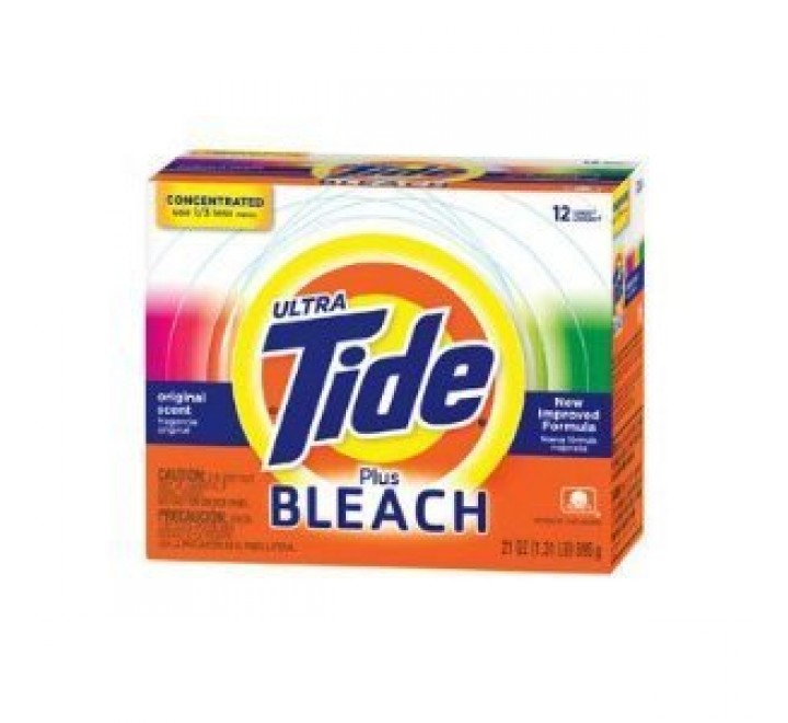 Tide Ultra Plus Bleach, 12 loads (610g)