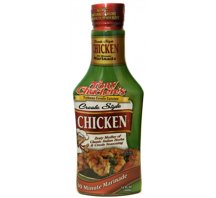 Tony Chachere's Creole Style Chicken Marinade (340g)