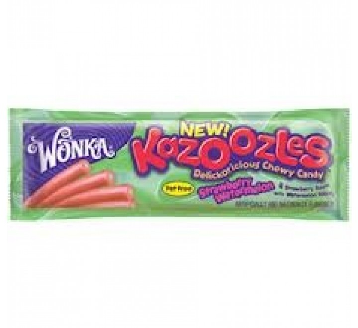 Wonka Kazoozles Strawberry Watermelon (51g)