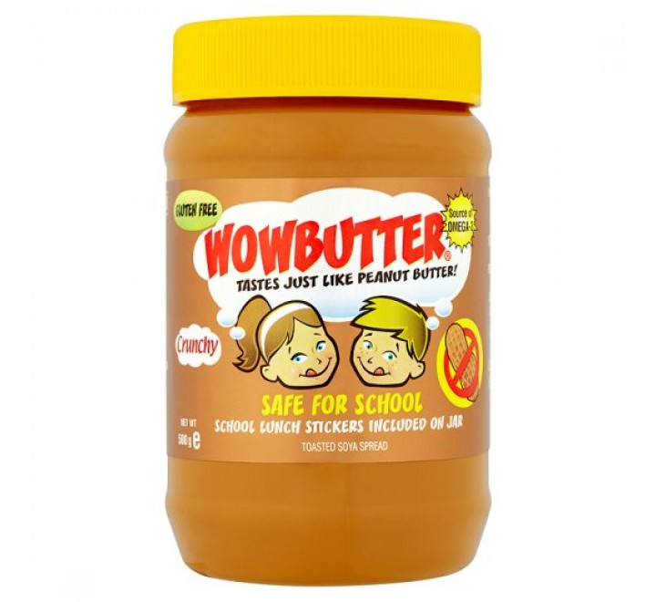 Wowbutter Safe For School, Peanut Free (500g)