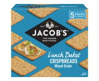Jacob's Crispbreads Mixed Grain Crackers (190g)