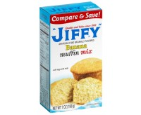 Jiffy Banana Muffin Mix (198g)