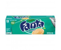 Fanta Grapefruit Soda, 12 Cans Fridgepack (355ml)