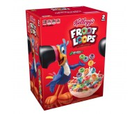 Kellogg's Froot Loops, Double Pack (1.24kg)