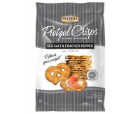 Snyder's Sea Salt & Cracked Pepper Pretzel Crisps (85g)