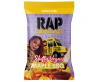 Rap Snacks Slutty Vegan, Maple BBQ Kettle Chips (53g)